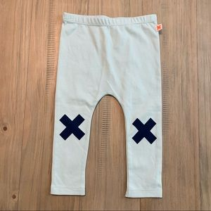 Tinycottons | Mint & Navy X Pima Cotton Leggings